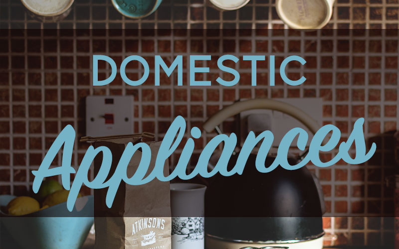 Small Domestic Appliance Sale!! Monday the 10th of August!!