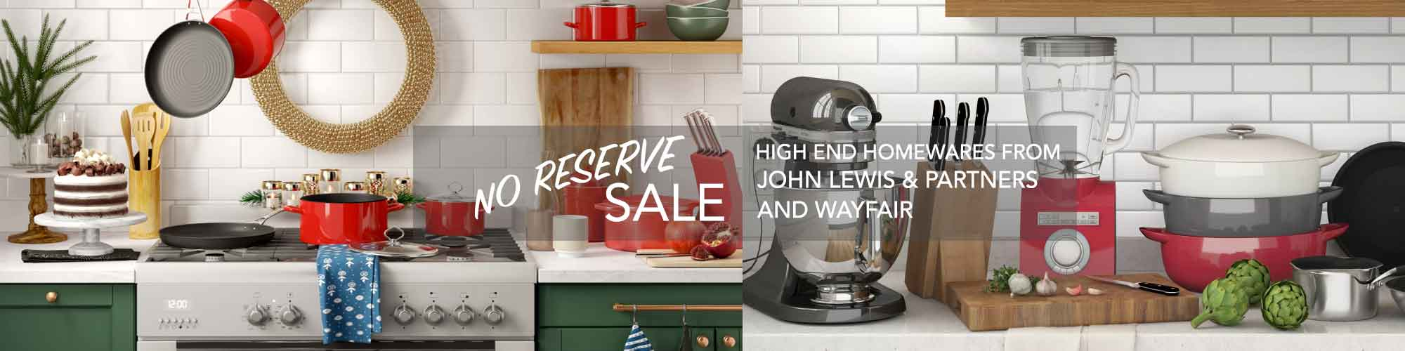 Thursday No Reserve Auction! Lots of Quality Homewares and Electronics!!!