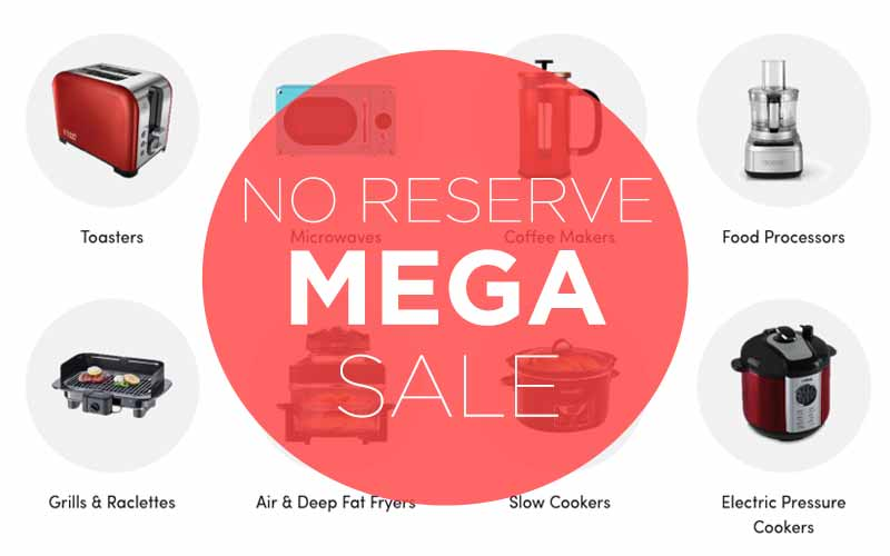 Tuesday No Reserve Mega Sale 14/05/19
