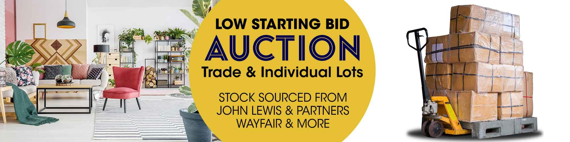 Midweek Low Starting Bid Online Auction