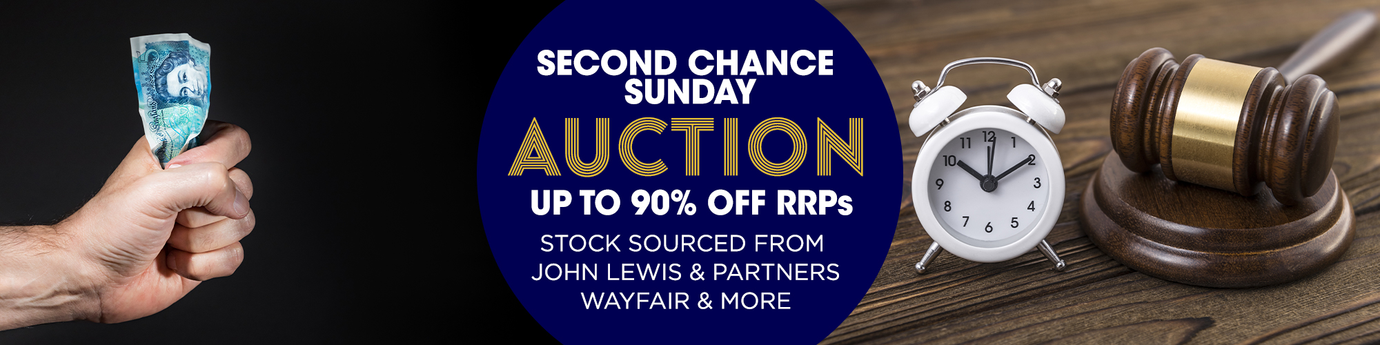 Second Chance Sunday Online Auction