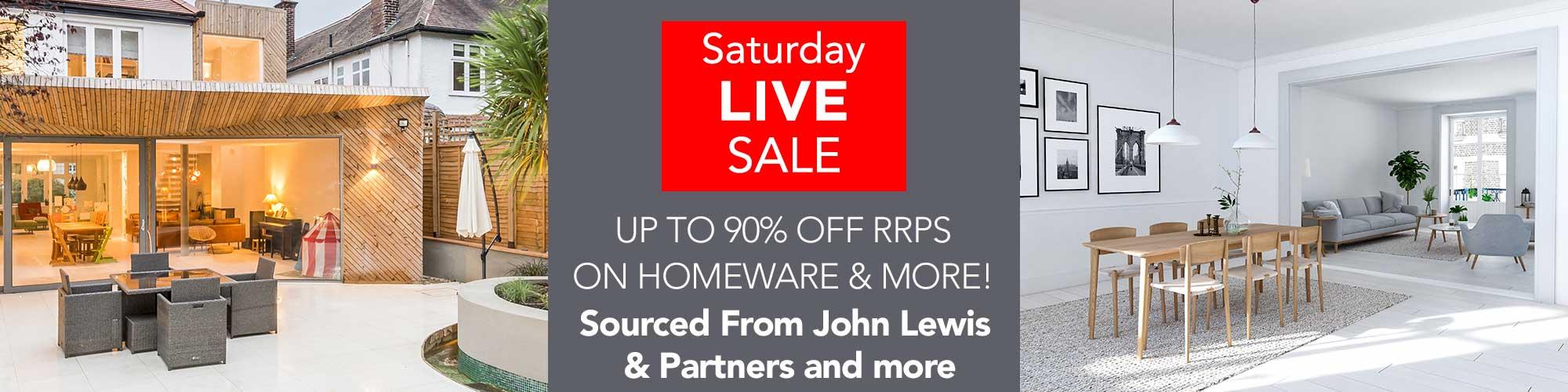 Saturday's Live Auction - Starts 10am Prompt