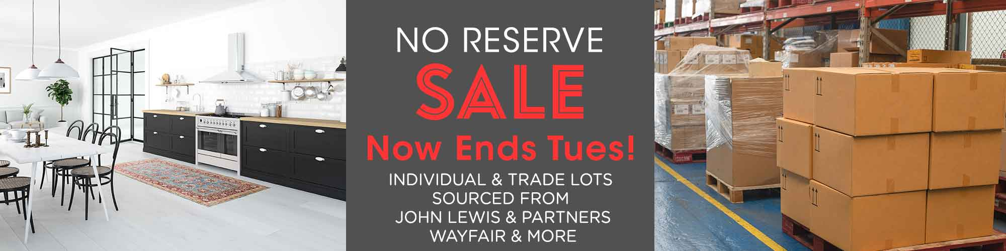 Midweek No Reserve Timed Auction