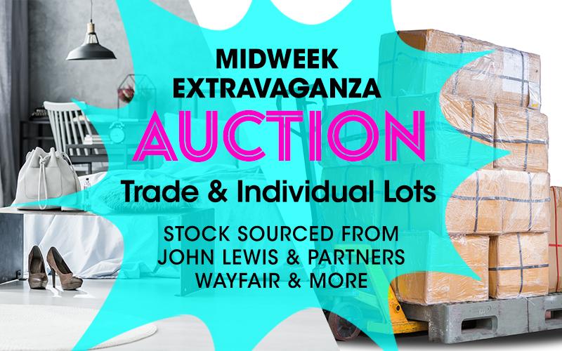 Midweek Extravaganza Online Auction – November 13th 2019