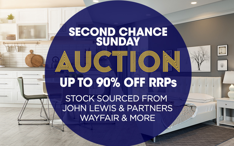 Second Chance Sunday Online Auction 25/08/19