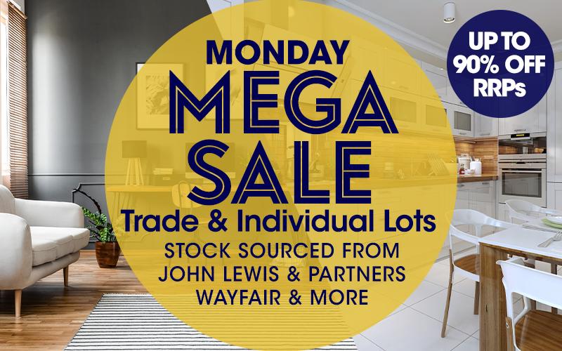 Monday MEGA SALE Online Auction 25/08/19