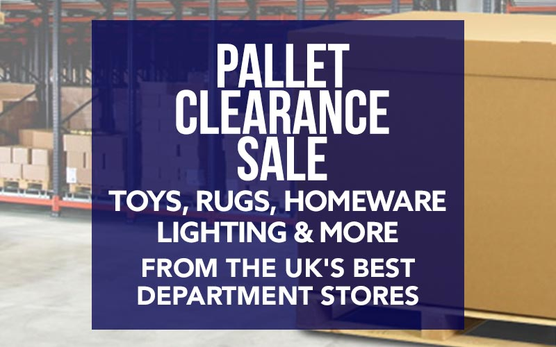 Pallet Clearance Sale! | November 25th 2019