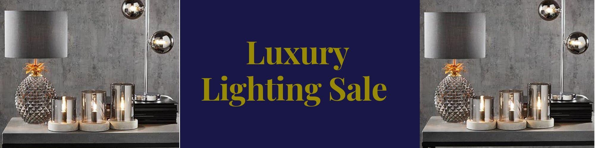 Luxury Lighting Sale Now On!!