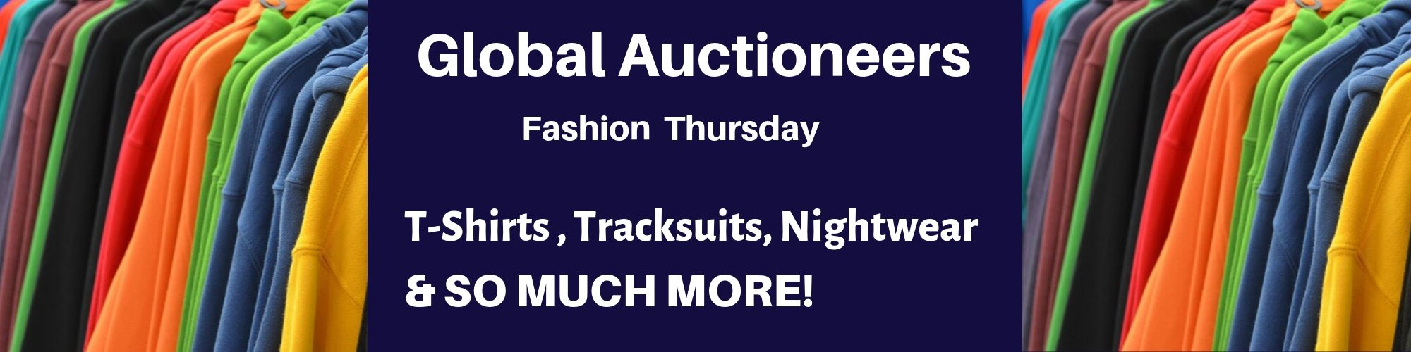Trade lots of Fashion to be auctioned off to the HIGHEST bidder!