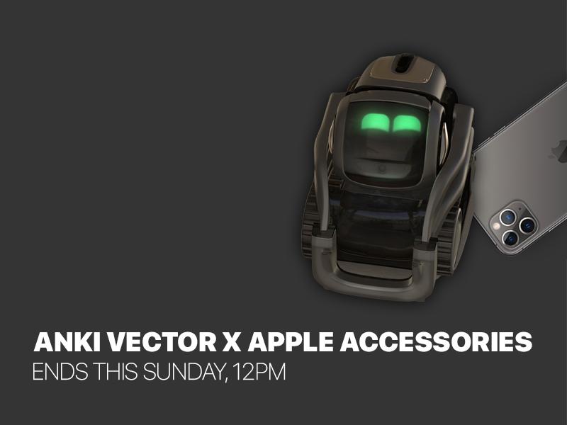 Anki Vector & Apple Accessories Auction | 05.04.20