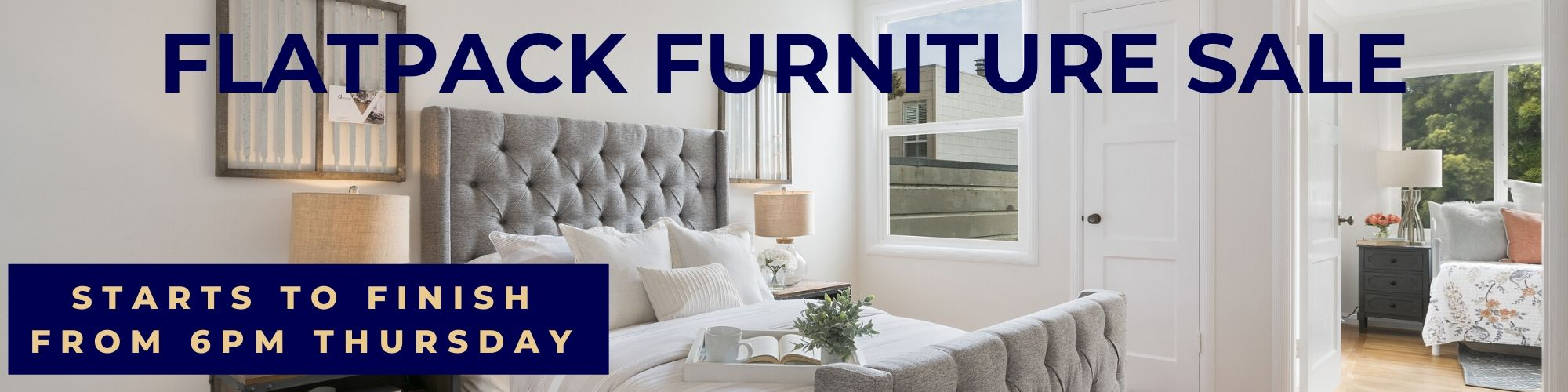 A Large Variety of Flat Packed Furniture