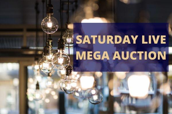 Saturday LIVE Auction   6th June 2020