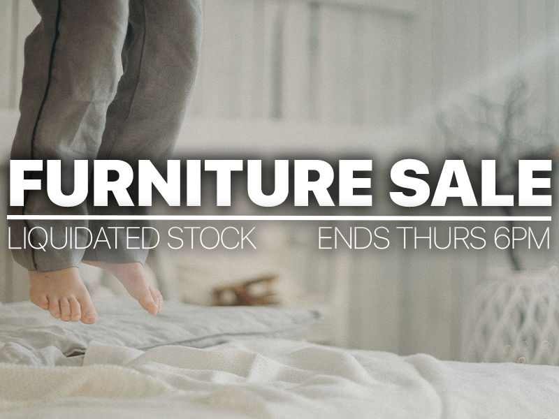 Furniture Sale | Flat-Pack, Boxed | 2nd April 2020