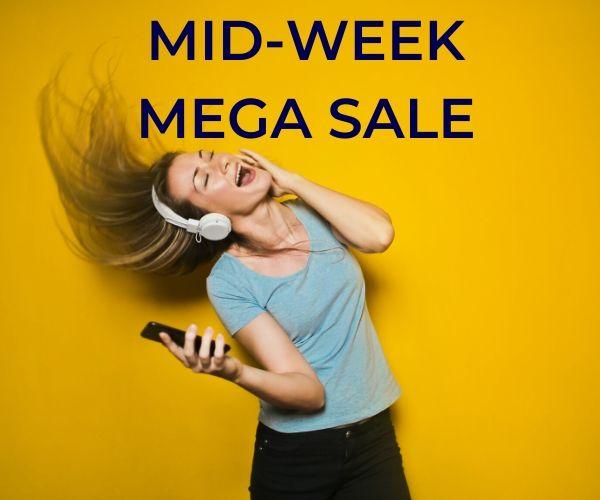 Wednesday Mega Sale!!   3rd June 2020