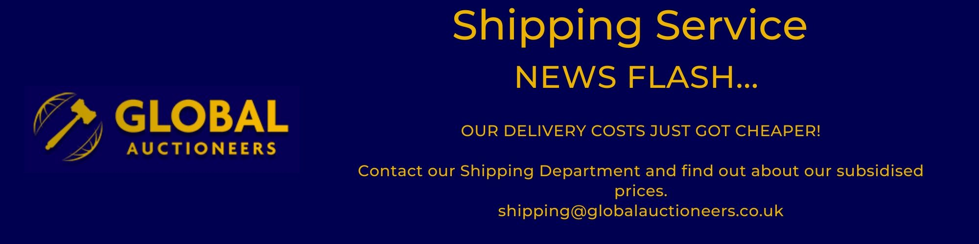 Subsidised Shipping Costs