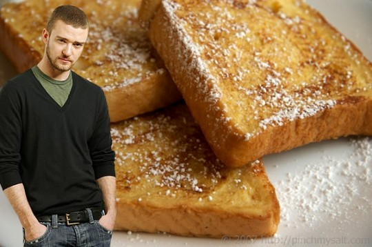 Justin Timberlake French Toast