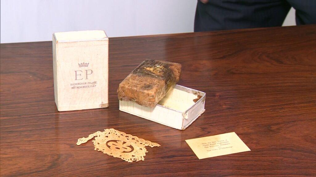 Queen Elizabeth II's wedding cake