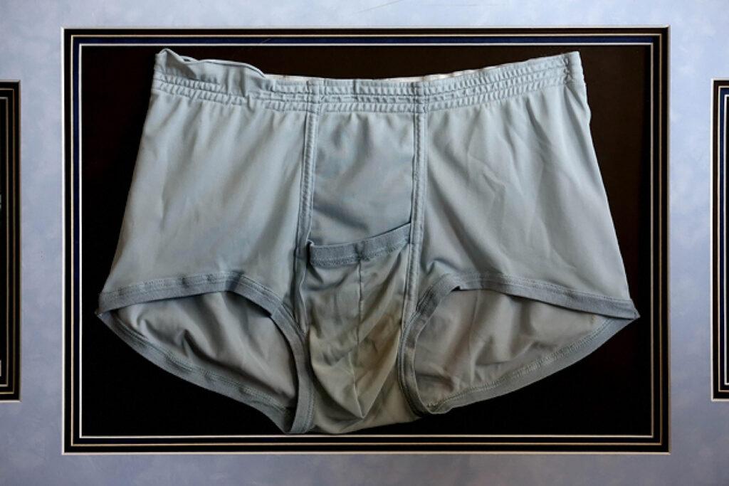 Elvis' dirty underwear